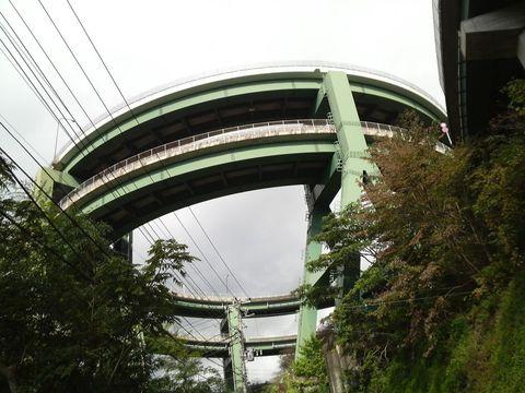 七滝ループ橋